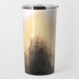 Metallic Abstract Travel Mug