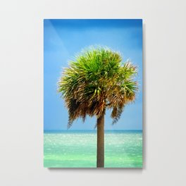 Stately Palm Metal Print