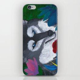 Wolf Box iPhone Skin