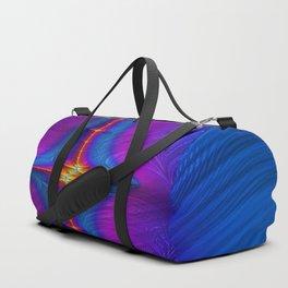 Embroidered Baton Fractal Duffle Bag