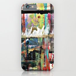 Colorful Bohemian Abstract 3 iPhone Case