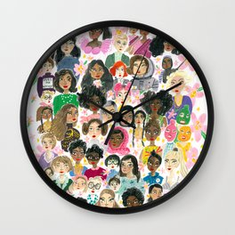 Women of the world Wall Clock