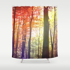 Forest Friends 2.0 Shower Curtain
