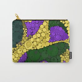 Gold river - abstract pattern Carry-All Pouch