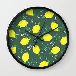 Happy Lemonade 2 Wall Clock