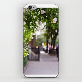 Friday Evening in the West Village iPhone Skin