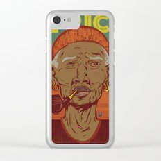 Modern Africa Clear iPhone Case