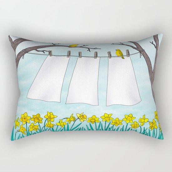 spring clean Rectangular Pillow