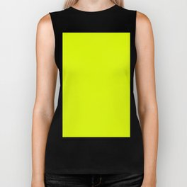 Lemon Lime Yellow Biker Tank