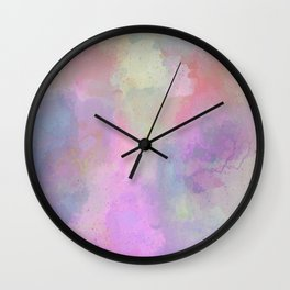 Cotton Candy Atmosphere Wall Clock