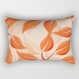 Harmony in Orange Rectangular Pillow
