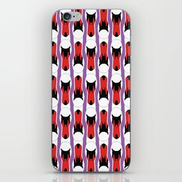 SWAN STRIPE iPhone Skin