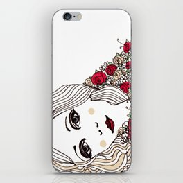 Flora May iPhone Skin