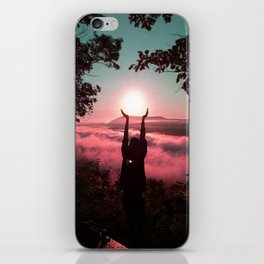 Holding the Sun iPhone Skin