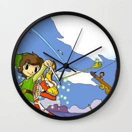 The Legend of Klaine Wall Clock