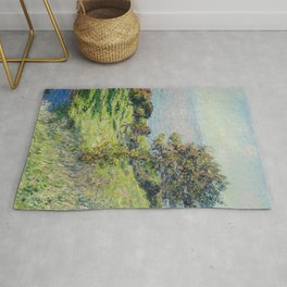 """Claude Monet """"Coup De Vent"""" Rug"""