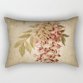 Vintage Wisteria Rectangular Pillow