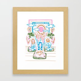 The Unbearable Hotness of Being Framed Art Print