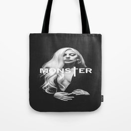 Lady Gaga's Portrait Monster Tote Bag