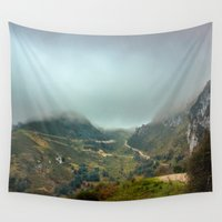 europe Wall Tapestries featuring Peaks of Europe by Svetlana Korneliuk