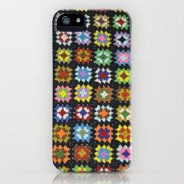 Crochet Granny Squares // Bright iPhone Case