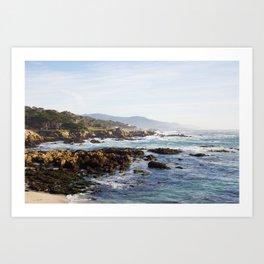 Monterey, Californnia. Art Print