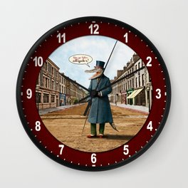 See Ya Later, Alligator! Wall Clock