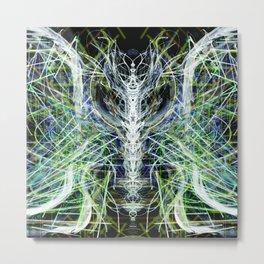 Spinal Fluidity Metal Print