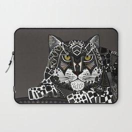 snow leopard lead Laptop Sleeve