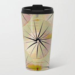 Paper Parasols (pink blush) Travel Mug