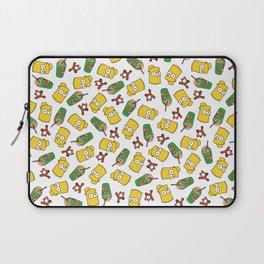 Bart Simpson Icons Laptop Sleeve
