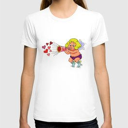 """LOVE - Loud & Clear { Boy Cupid }"" by Jesse Young ILLO T-shirt"