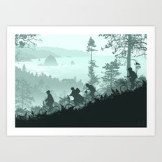 Never Say Die Art Print