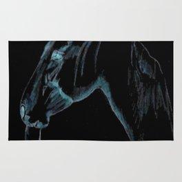 """ Black Stallion "" Rug"