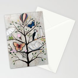 Curious Deciduous Stationery Cards
