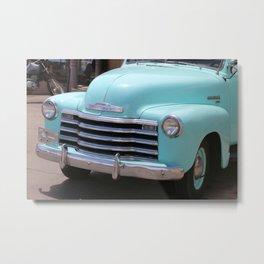 A Vintage Chevrolet Truck Metal Print