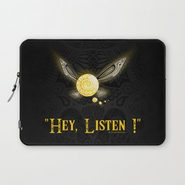 Hey Listen ! Laptop Sleeve