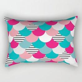 Scale Pattern Rectangular Pillow