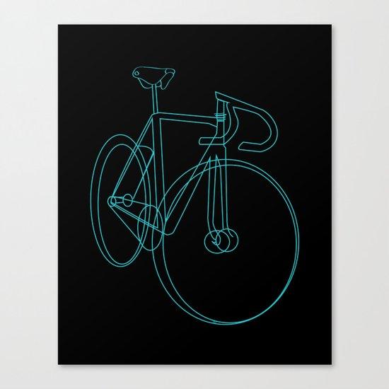 bike sketch Canvas Print