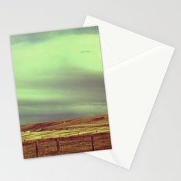 Neon and Rusted Stationery Cards