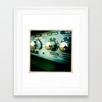 sound Framed Art Prints featuring Sound by Art Ground