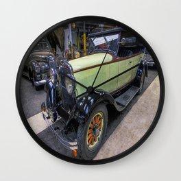 Dodge 6 Cylinder Sedan Wall Clock