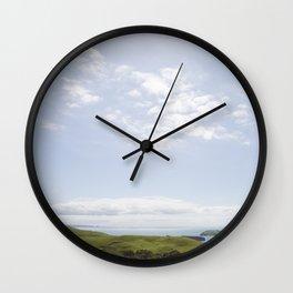 Coromandel Coast - NZ Wall Clock