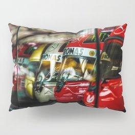 Michael Schumacher Helmets Pillow Sham