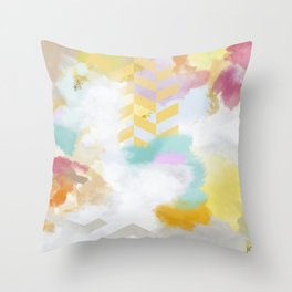 Painting No. 1 Throw Pillow