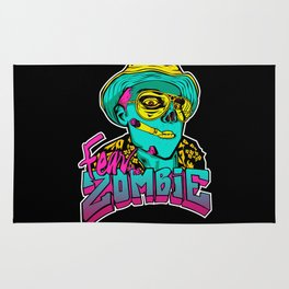 Fear the Zombie Rug