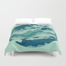 TOPOGRAPHY 006 Duvet Cover
