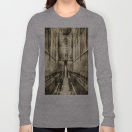 Rochester Cathedral Vintage Long Sleeve T-shirt