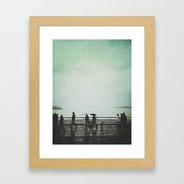 // NYC // Battery Park Framed Art Print
