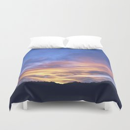 """Sunrise Horizon 2"" by Murray Bolesta Duvet Cover"